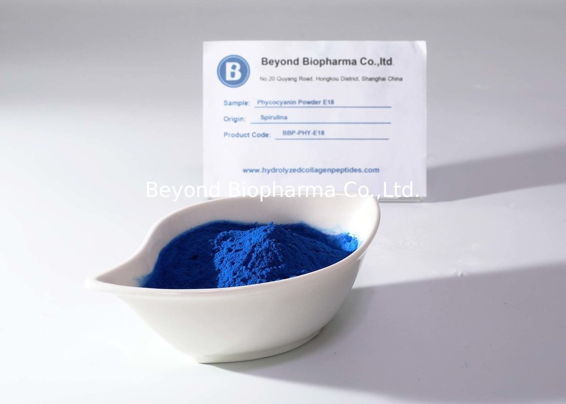 Halal Verified Phycocyanin Powder As Natural Blue Coloring For Confectionery